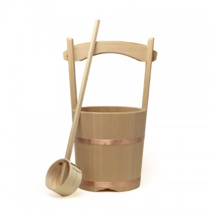 Japanese Wooden Bucket