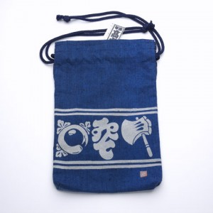 Japanese ingigo tote bag